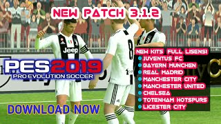 PATCH PES 2019 3.1.2 STARTSCREEN C RONALDO NoRoot