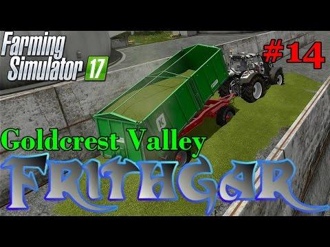 Let's Play Farming Simulator 2017, Goldcrest Valley #14: Slowly Filling The Bunker!