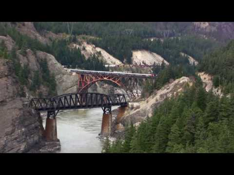 Canada's Canyons - Trains through the Thompson River Canyon