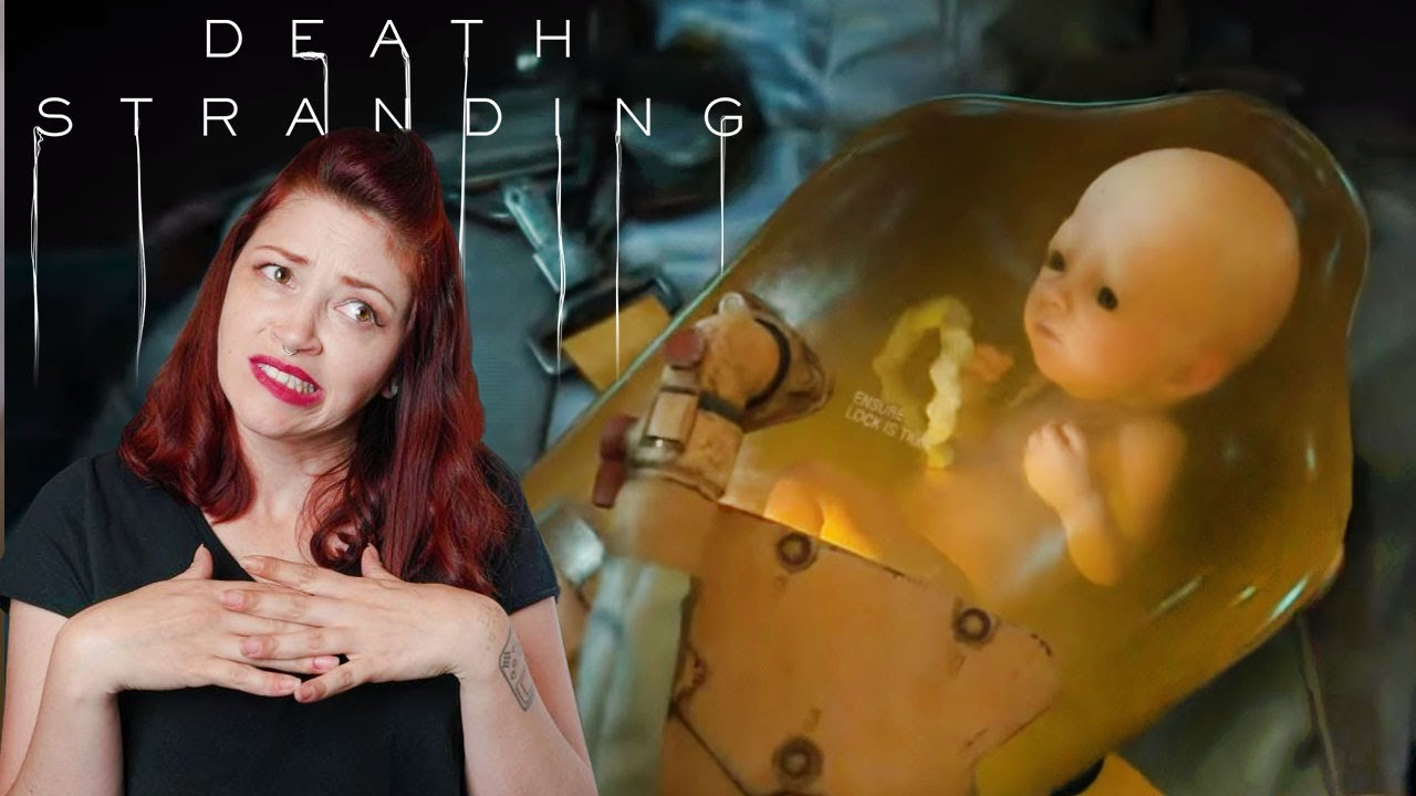 Death Stranding's creepy little baby is also kind of cute
