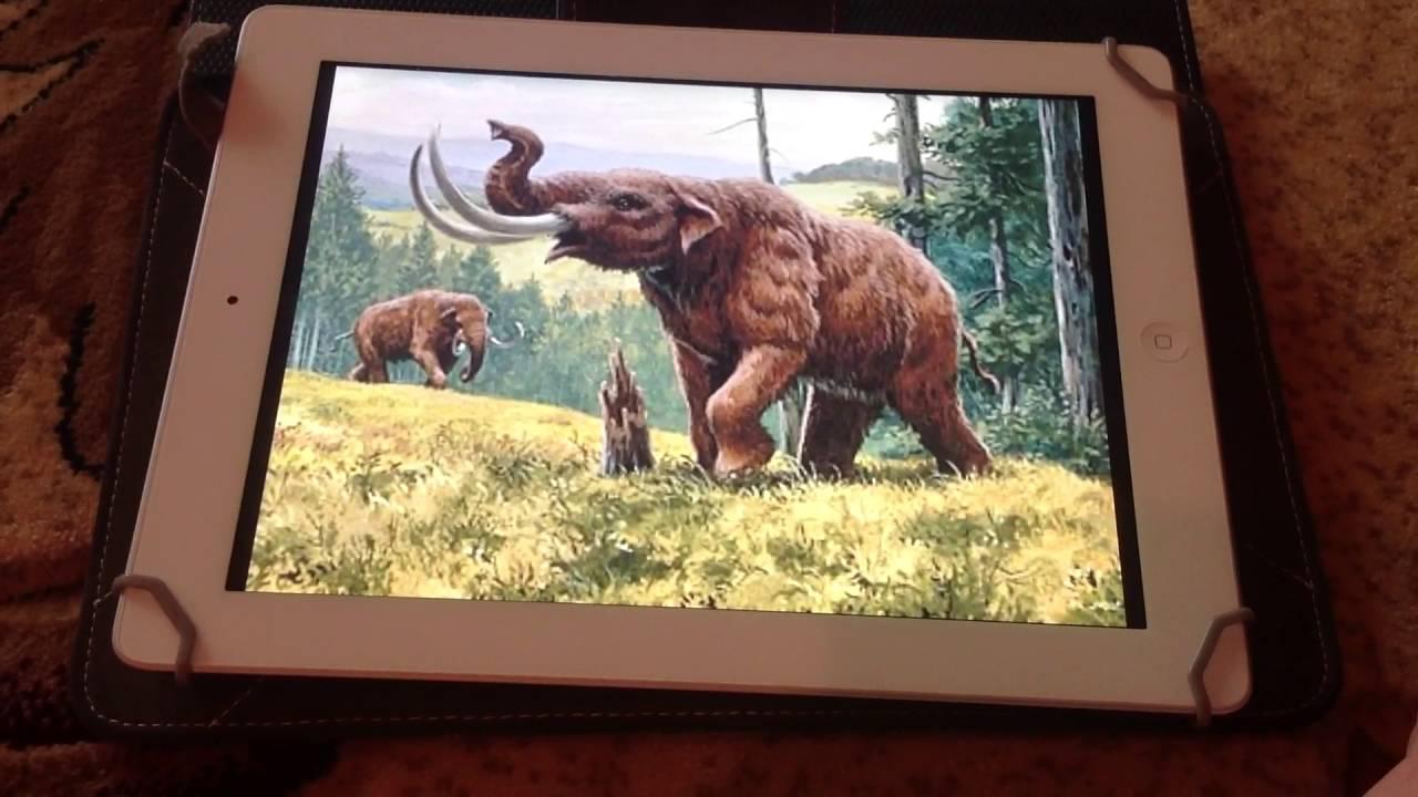 what sound does a mastodon make