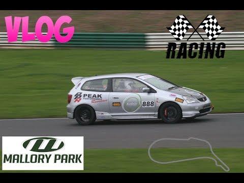 Racing Vlog Mallory Park Honda Civic Type R Nippon Challenge