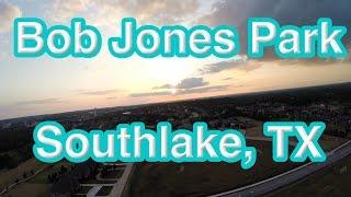 DRONE SUNSET FLIGHT: Bob Jones Park - Southlake, TX