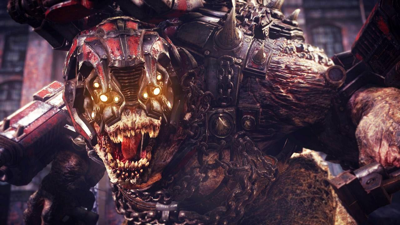 Gears Of War 4: Brumak Boss Fight (4K 60fps)