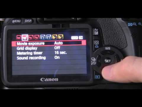How To Use Your Manual Video Setting For Canon D Ti