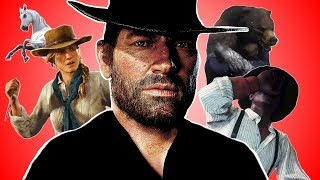 """♪ """"WHAT I WANT"""" A RED DEAD REDEMPTION 2 SONG - Music Video Parody"""