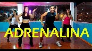 ADRENALINA Wisin ft. Ricky Martin Jennifer Lopez Coreografía Fitness
