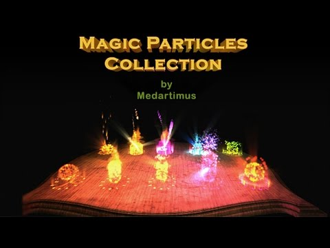 Unity3D Particle Magic Video Preview