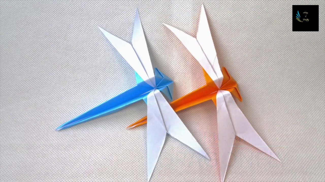 Easy Origami Dragon by Armin Täubner / Tutorial - Henri Louis ... | 720x1280