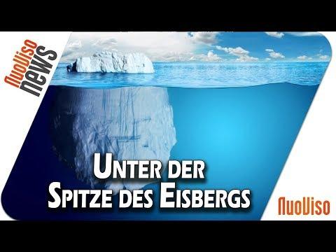 Unter der Spitze des Eisbergs
