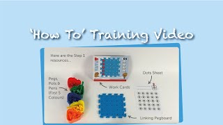 Pegs to Paper 'How To' Training Video