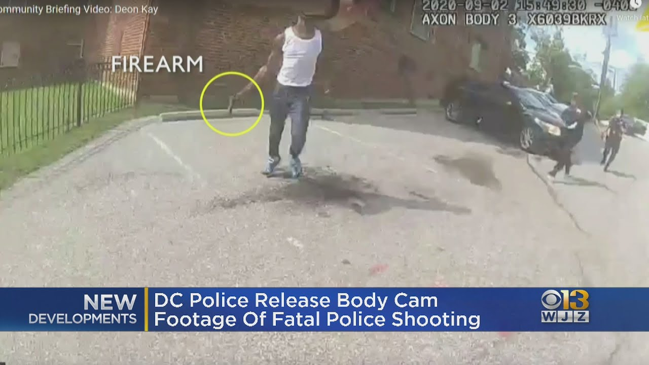D.C. Police Release Body-Camera Footage Showing Fatal Shooting ...