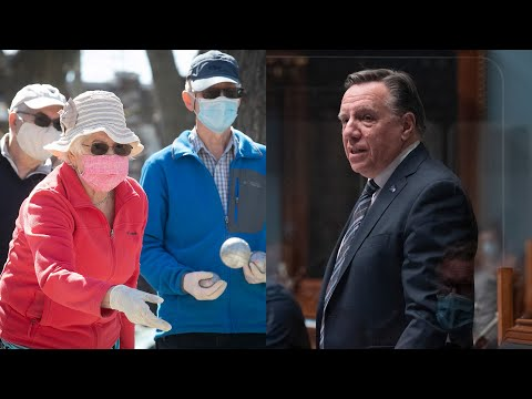 'I'm not perfect, like all Quebecers,' Premier Legault says in defence of his mask flip-flop