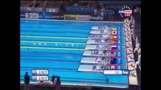 Золотая победа Юлии Ефимовой на ЧМ по плаванию в Барселоне