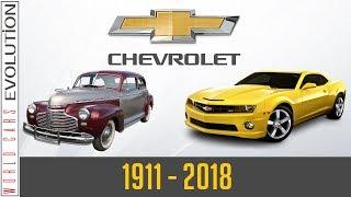 W.C.E  Chevrolet Evolution (1911  2018)
