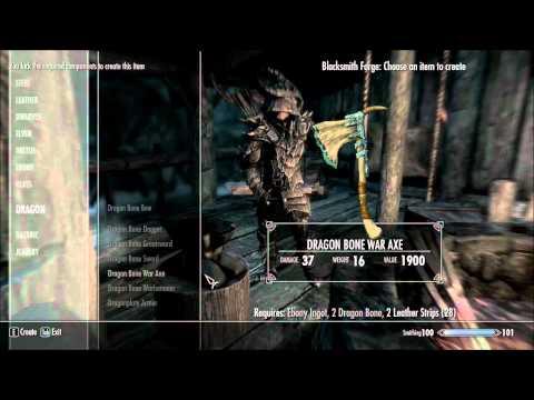 Skyrim Mods #4 - Dragon Weapons (HD)