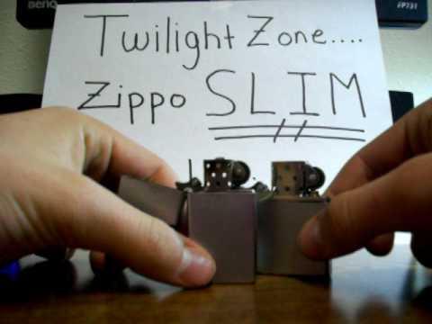 Zippo Trick: Twilight Zone SLIM Edition