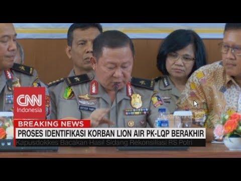 125 Jenazah Dikenali, Proses Identifikasi Korban Lion Air PK-LQP Berakhir Mp3