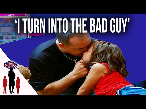 Thumbnail: Dad Grabs Young Daughter By The Face In Argument | Supernanny USA