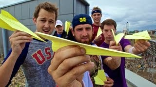 Repeat youtube video Paper Airplane Battle