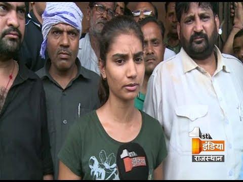 आनंदपाल की छोटी बेटी ने किया शव लेने से इंकार, कहा पहले परिवार को मिले इंसाफ