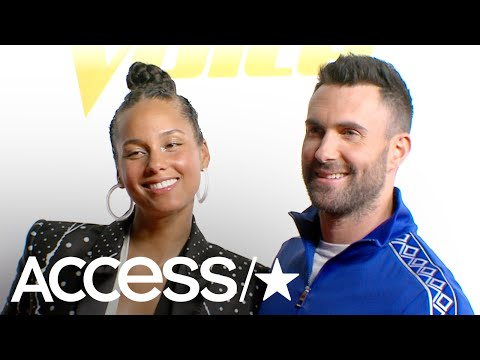 'The Voice's' Adam Levine & Alicia Keys: Adam Reveals What Became Of His Blake Shelton China
