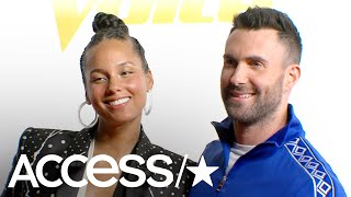 the voices adam levine alicia keys adam reveals what became of his blake shelton china