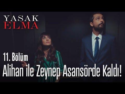 Alihan ile Zeynep asansörde kaldı!