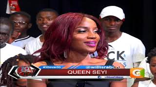 10 OVER 10 | Seyi Shay exclusive on 10 over 10