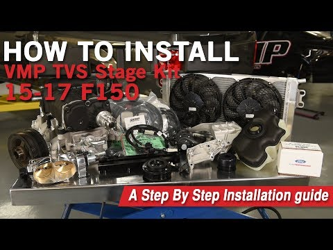 VMP Performance | 2015-2017 F150 Supercharger Kit Install