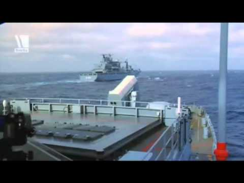 German Navy   Deutsche Marine   Missile defence exercise