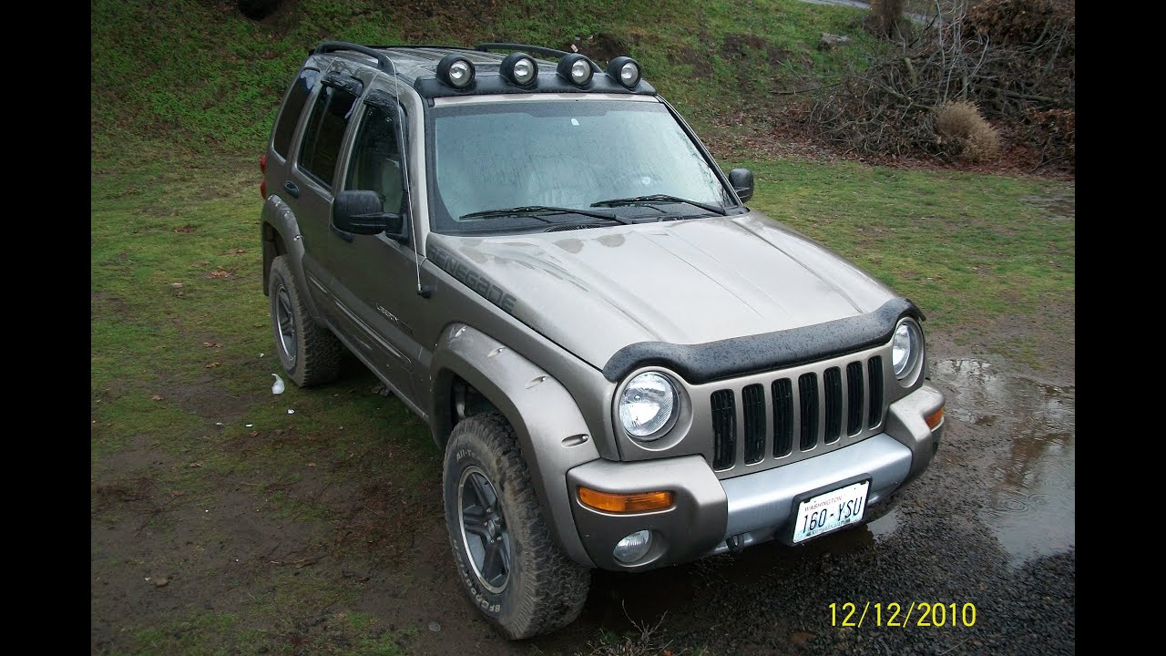 2003 jeep liberty renegade playing in mud lake youtube. Black Bedroom Furniture Sets. Home Design Ideas