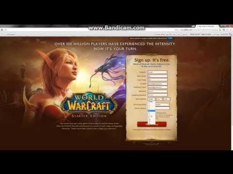 Tutorial - How To Download World Of Warcraft & Make Account!