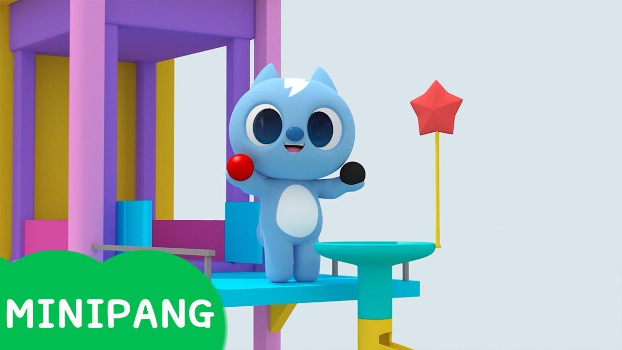 [미니팡 에스파냐] 미니특공대 | 마블런 | 색깔놀이 | 에스파냐어 | 스페인어| Color play | Mini-Pang TV 3D Play