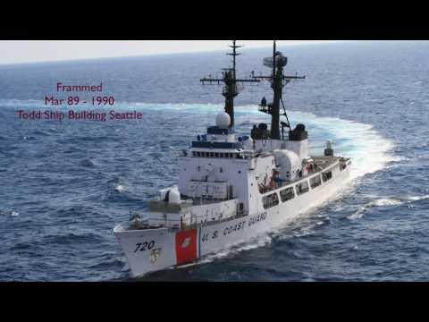USCG Cutters 378 Foot Class