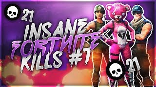 INSANE FORTNITE KILL MONTAGE #1 | 1000 IQ PLAYS!