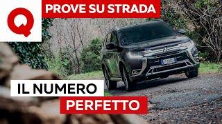 Mitsubishi Outlander PHEV: tre motori, zero navigatore