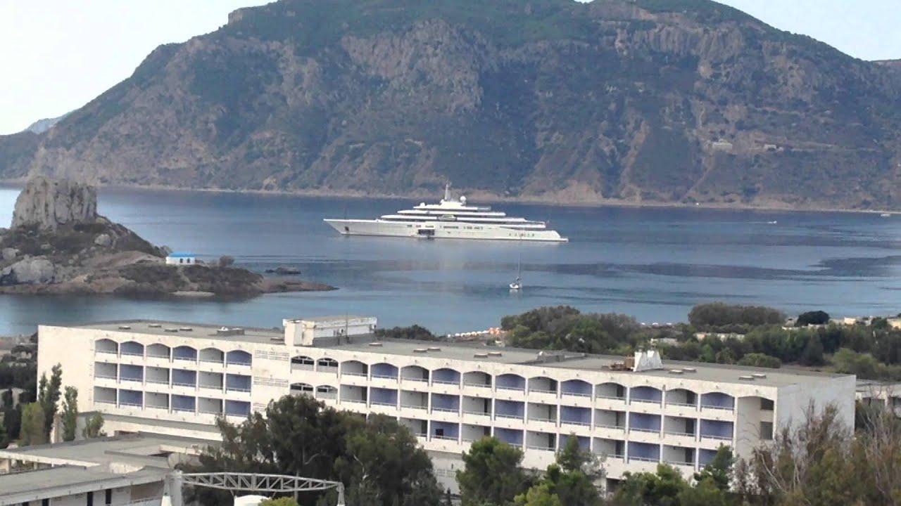 Roman Abramovich Yacht Chelsea Boss In Kos Greece