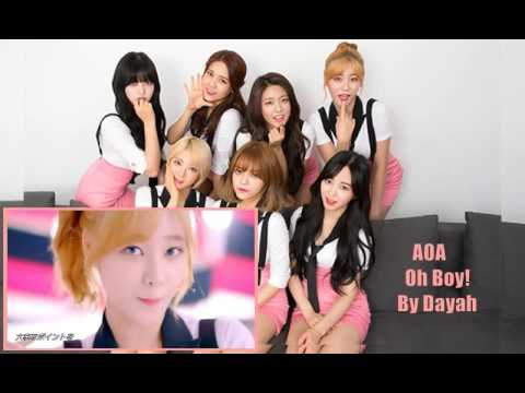 AOA Oh Boy Song Cover + Short Acapella with full MV