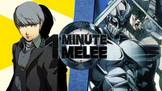 one minute melee s3 ep10 yu narukami vs polnareff persona vs jojos bizzare adventure