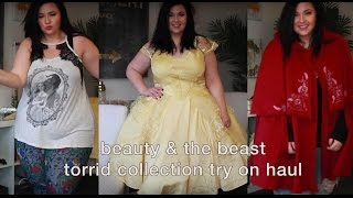 PLUS SIZE FASHION TRY ON HAUL | TORRID x BEAUTY AND THE BEAST 2017