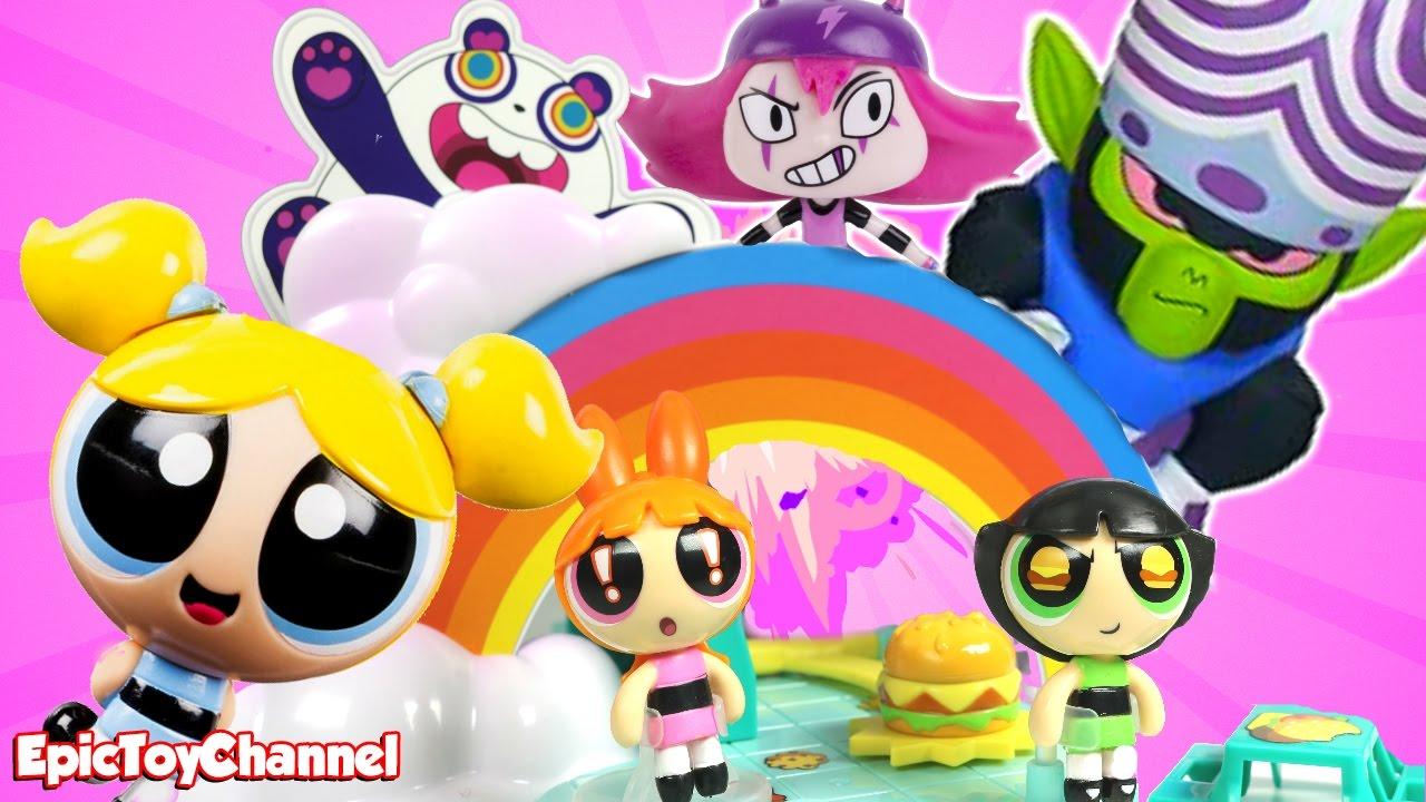 Powerpuff Girls Toys : Powerpuff girls toy video story maker system toysreview