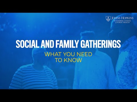 Social and Family Gatherings: What You Need to Know