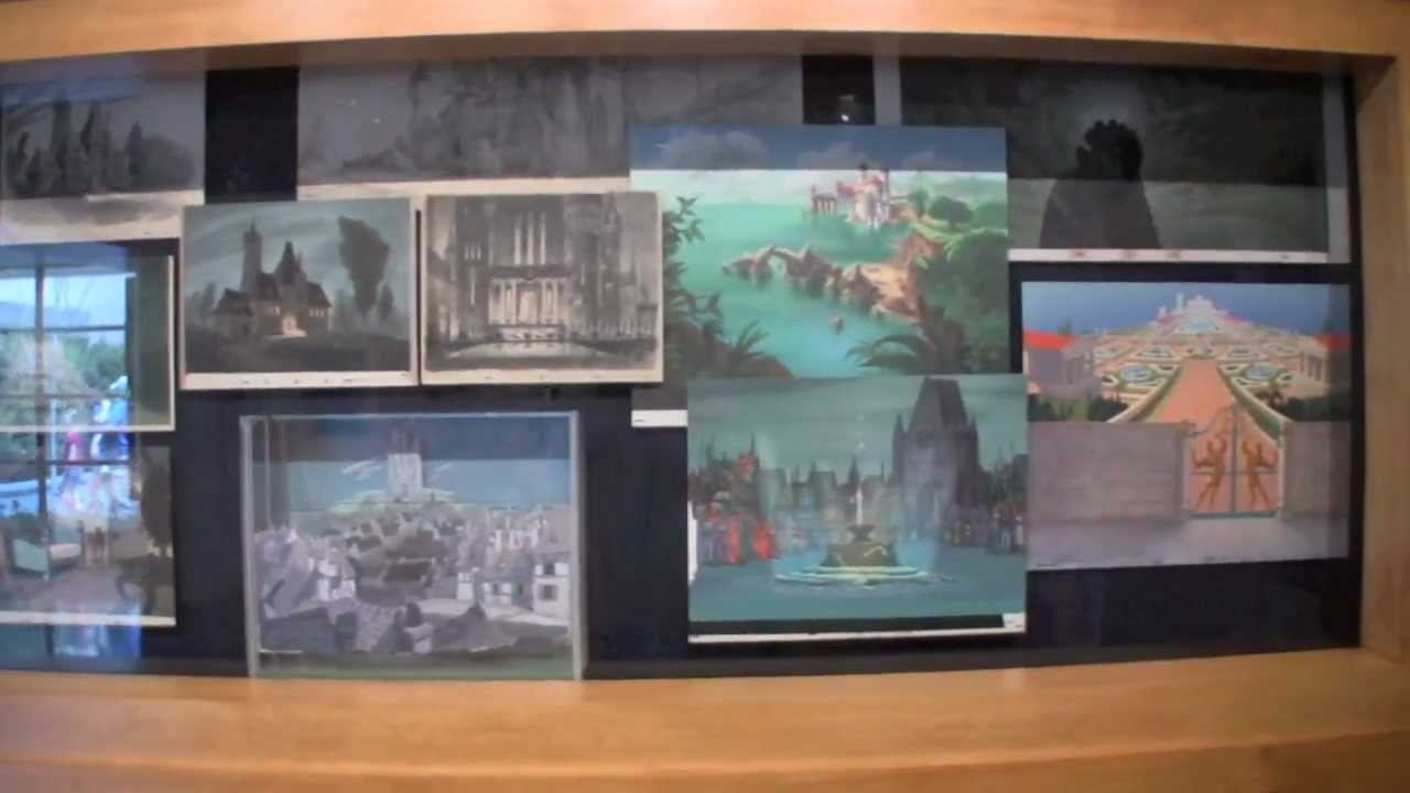 art of disney animation - backgrounds at disney's hollywood studios