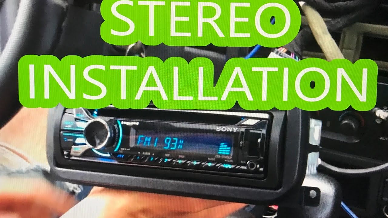 Jeep Grand Cherokee '99'04 stereodeckradio install  YouTube