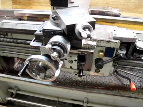 Evaluating and moving a used metalworking lathe