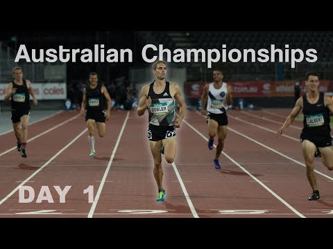 NATIONAL CHAMPIONSHIPS DECATHLON! | DAY 1