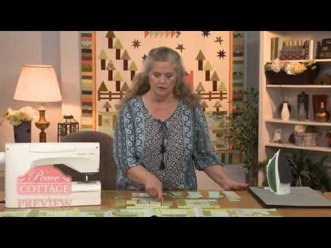 McCall's Quilt Along Peace Cottage Lesson 3 Preview - Log Cabin Blocks