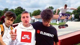 Énorme VLOG SKATE aux Sables D'Olonnes!  ft.Riders Gang