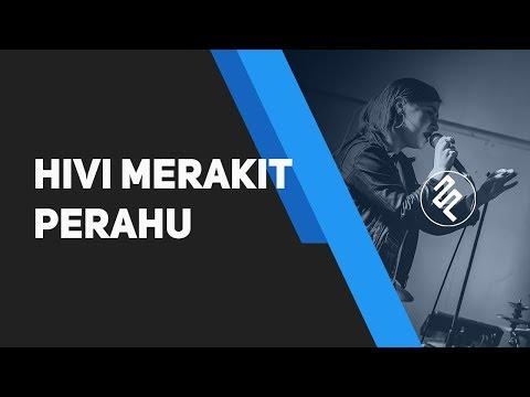 HIVI! - Merakit Perahu Piano Karaoke Instrumental Synthesia / Chord / Lirik / Tutorial
